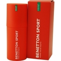 Benetton Sport Edt Spray 3.3 oz for women by Benetton