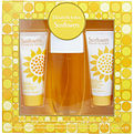 Sunflowers Edt Spray 3.3 oz & Body Lotion 3.3 oz & Cream Cleanser 3.3 oz for women by Elizabeth Arden