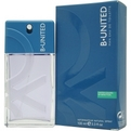 B United Edt Spray 3.3 oz for men by Benetton