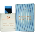 Active Water Eau De Toilette Spray 3.4 oz for men by Sergio Tacchini