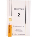 Scherrer Ii Eau De Toilette Vial On Card for women by Jean Louis Scherrer