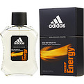 Adidas Deep Energy Eau De Toilette Spray 3.4 oz for men by Adidas