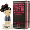 Harajuku Lovers Love Eau De Toilette Spray 1 oz for women by Gwen Stefani