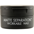 Bed Head Men Matte Separation Wax 2.6 oz (Black Packaging) for men by Tigi
