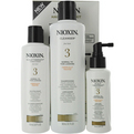 Nioxin 3 Piece Maintenance Kit System 3 With Cleanser 10.1 oz & Scalp Therapy 5.07 oz & Scalp Treatment 3.38 oz (Packaging May Vary) for unisex by Nioxin