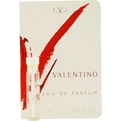 Valentino V Eau De Parfum Vial On Card for women by Valentino
