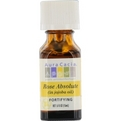 Essential Oils Aura Cacia Rose Absolute In Jojoba Oil .5 oz for unisex by Aura Cacia