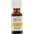 Essential Oils Aura Cacia Sandalwood In Jojoba Oil .5 oz for unisex by Aura Cacia