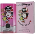 Ed Hardy Born Wild Eau De Parfum Spray 3.4 oz for women by Christian Audigier