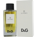 D & G 11 LA FORCE Cologne by Dolce & Gabbana