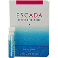 Escada Into The Blue Eau De Parfum Vial On Card for women by Escada