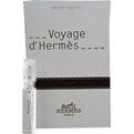 Voyage d'Hermes Edt .06 oz Vial for unisex by Hermes