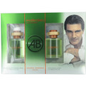 Mediterraneo Edt Spray 3.4 oz & Aftershave 3.4 oz for men by Antonio Banderas