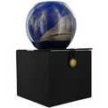 COBALT CANDLE GLOBE Candles by Cobalt Candle Globe