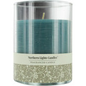 Ocean Breeze One 4.5 Inch Glass Pillar Scented Candle.  Burns Approx. 70 Hrs. for unisex by Ocean Breeze