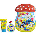 Smurfs 2 Piece Clumsy Smurf Tin Can Set Includes Edt Spray 1.7 oz & Bubble Bath 2.5 oz for unisex