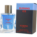 Burning Ice Eau De Toilette Spray 3.4 oz for men by Iceberg