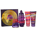 Girlfriend By Justin Bieber Eau De Parfum Spray 3.4 oz & Body Lotion 3.4 oz & Shower Gel 3.4 oz for women by Justin Bieber