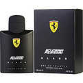 Ferrari Scuderia Black Eau De Toilette Spray 4.2 oz for men by Ferrari