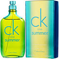 Ck One Summer Eau De Toilette Spray 3.4 oz (Limited Edition 2014) for unisex by Calvin Klein