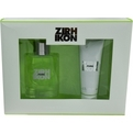 Ikon Pure Eau De Toilette Spray 4.2 oz & Hair & Body Wash 3.4 oz for men by Zirh International