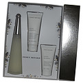 L'Eau d'Issey Eau De Toilette Spray 3.3 oz & Body Cream 2.5 oz & Shower Cream 1.6 oz  for women by Issey Miyake