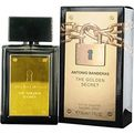 ANTONIO BANDERAS THE GOLDEN SECRET Cologne pagal Antonio Banderas
