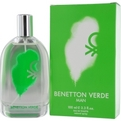 BENETTON VERDE Cologne ved Benetton