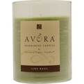 LIME BASIL SCENTED Candles ved Lime Basil Scented