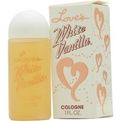 LOVES WHITE VANILLA Perfume by Dana