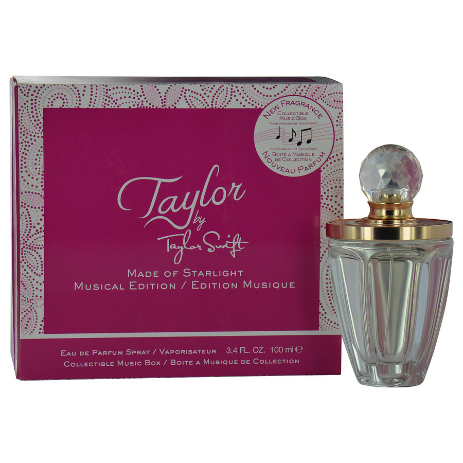 taylor by taylor swift made of starlight eau de parfum for women by taylor swift. Black Bedroom Furniture Sets. Home Design Ideas