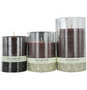 MOCHA LATTE SCENTED Candles z Mocha Latte Scented